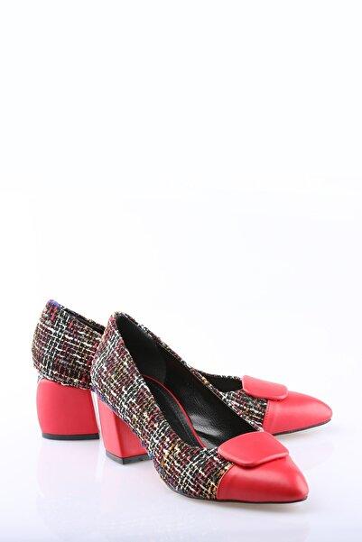 Buffalo Kadın Kırmızı Topuklu Ayakkabı