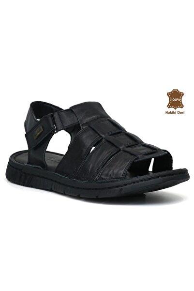 Pierre Cardin 2613 Hakiki Deri Erkek Sandalet