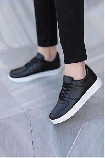 EVDİVA Unısex  Siyah Sneaker Ayakkabı