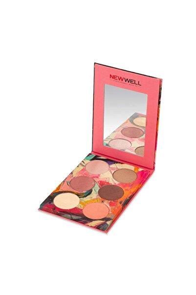 New Well Autumn Eyeshadow Palette - 01