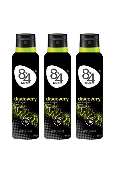 8x4 Erkek Deodorant 3'lü Set