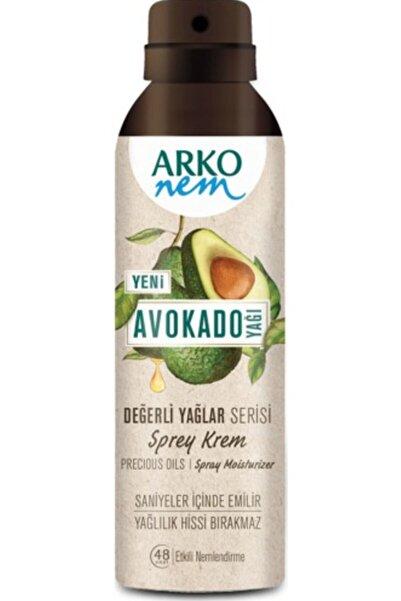 ARKO Nem Değerli Yağlar Sprey Krem Avokado 150 Ml