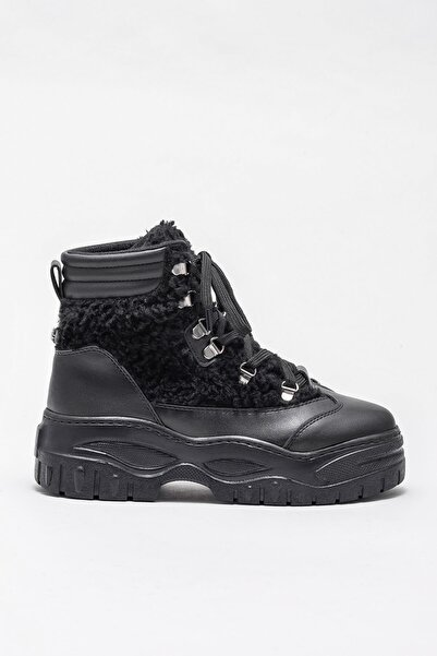 Elle Shoes MARLE Siyah Kadın Bot