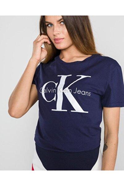 Calvin Klein Kadın Monogram Short Sleeve Woman Kadın T-shirt