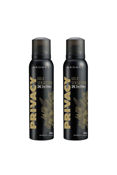 Privacy Gold Men Deodorant 2 X 150 ml