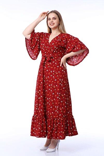 ADASTYLE Kadın Bordo Elbise