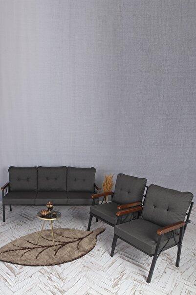 UFUK HOME Balkon, Bahçe Mobilyası 3+1+1 Takım
