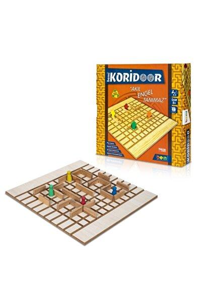 BEMİ Lüks Sağlıklı Ahşap Koridoor/koridor - Akıl Hafıza Mantık Eğitici Zeka Strateji Çocuk Ve Aile Oyunu