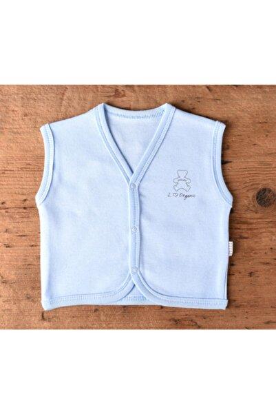 kitikate Kiti Kate Organic Bebe Boy Yelek Mavi 62 Kits75493