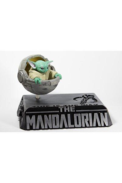 dream3d Baby Yoda Figür Ve Tabanı - Star Wars - Bebek Yoda - 10 X 15 Cm