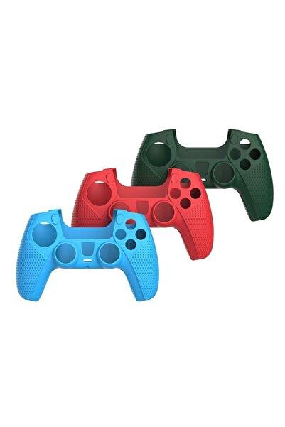İstoc Trend Playstation 5 Dualsense Gamepad Slikon Koruyucu Set, Ps5 Slikon Kılıf