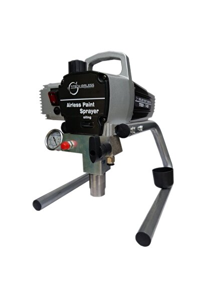 Titech Airless T-450 Elektrikli Pistonlu Airless Boya Makinası/pompası (kartsız)(siyah)