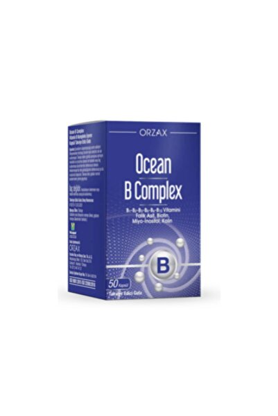Ocean B Complex 50 Kapsül Takviye Edici Gıda