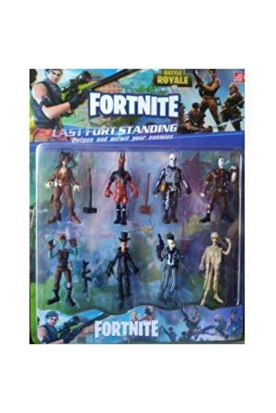 Fortnite 8'li Figür Seti Oyun Figürleri 8cm. Aksesuarlarıyla Yeni