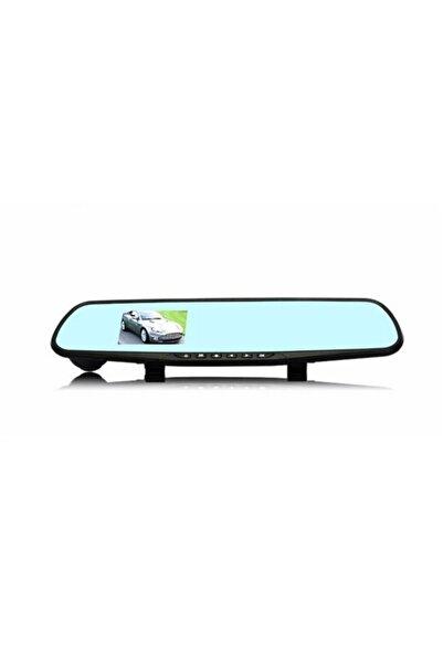 Techmaster Geniş Açılı Aynalı Araç Içi Kamera Iki Kameralı