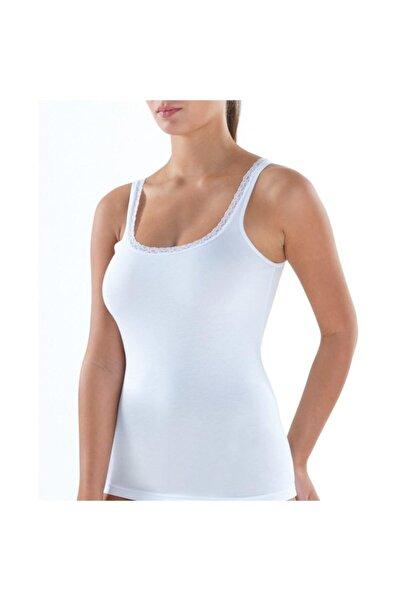 Blackspade Kadın Atlet Comfort Elegance 1364 - Beyaz