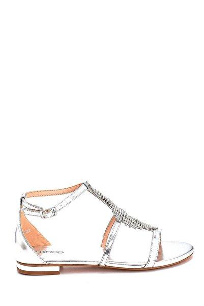 Derimod Kadın Taş Detaylı Casual Sandalet