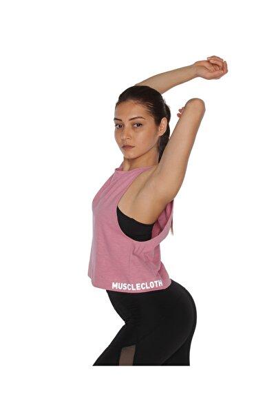 MUSCLECLOTH Performance Kolsuz T-shirt Pembe