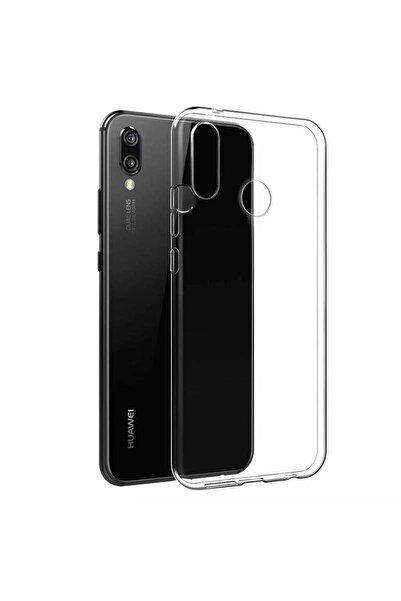 Huawei Y7 Prime 2019 Kılıf Şeffaf Ince Esnek Pürüzsüz ve Soft