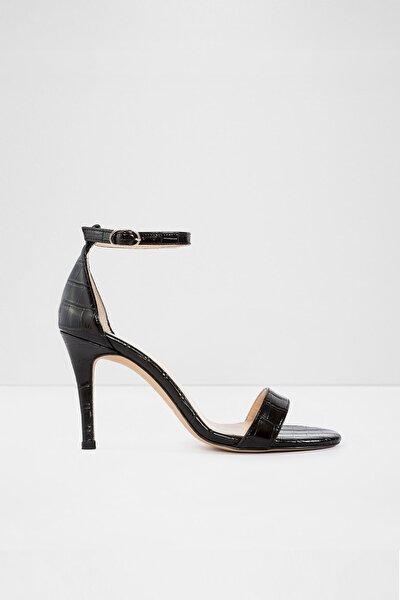 Aldo Siyah Kadın Topuklu Sandalet