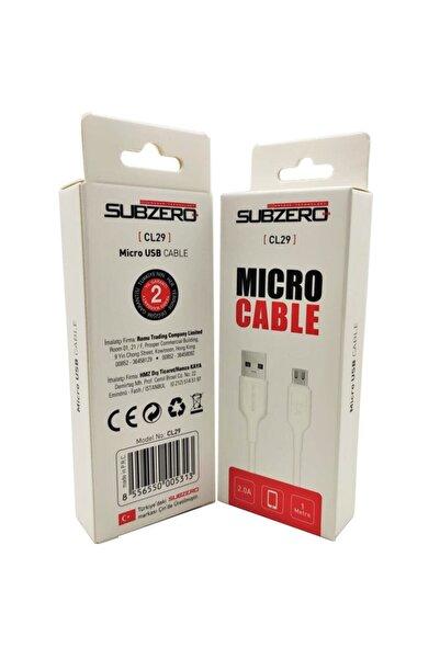 Subzero Micro Hızlı Şarj Kablosu Cl29 Kablo