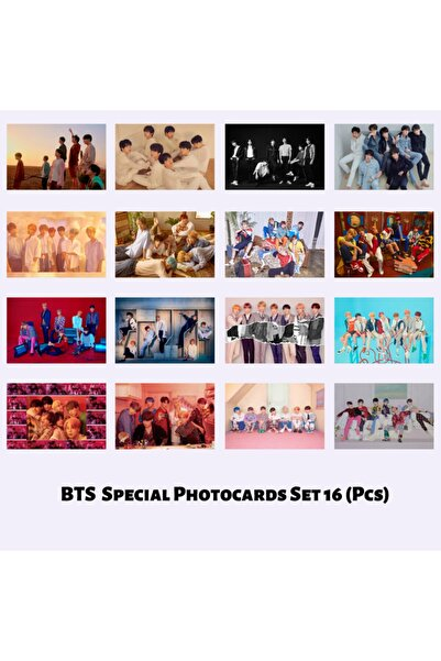 BTS Special Grup Fotokart Seti