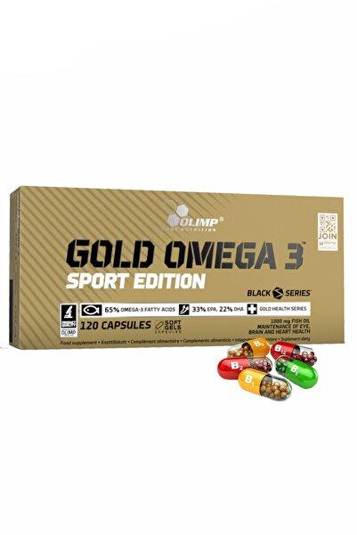 Olimp Gold Omega 3 Sport Edition 120 Kapsül Balık Yağları E Vitamini Takviye Gıda