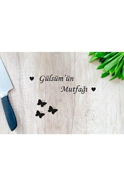 MO-KA HOME Gülsümün Mutfağı Isimli Ahşap Duvar Dekoru