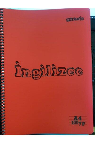 Umix My Note 100 Yaprak Çizgili Spiralli Ingilizce Defteri