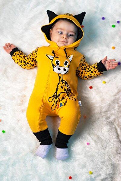 Mai Perla Zürafalı Unisex Bebek Tulum