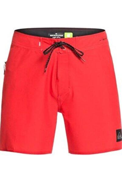 Erkek Kırmızı Renk Deniz Şortu Eqybs04333