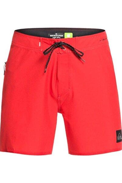 Quiksilver Erkek Kırmızı Renk Deniz Şortu Eqybs04333