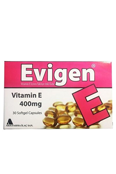 evigen E Vitamini Kapsül