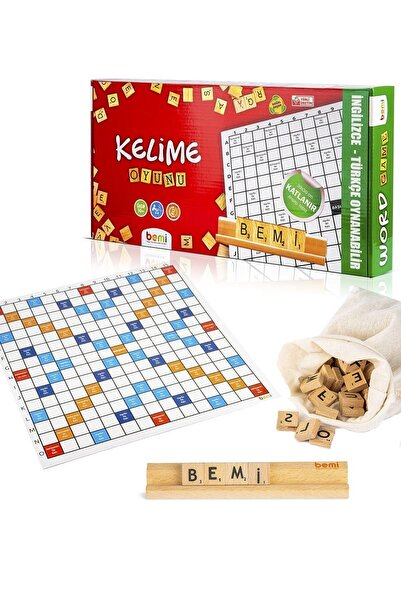 BEMİ Kelime Oyunu - Sağlıklı Eğitici Zeka Strateji Çocuk Ve Aile Oyunu