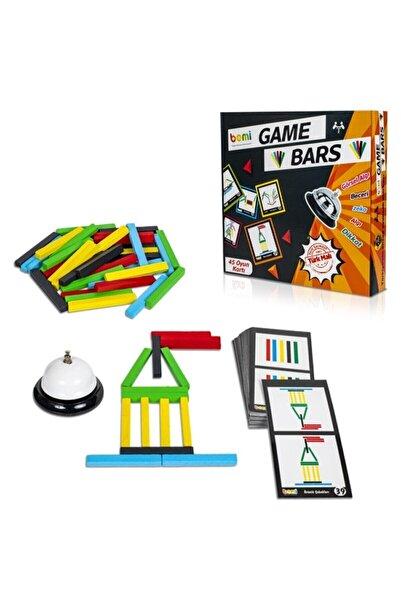 BEMİ Game Bars - Mantık Eğitici Zeka Strateji Çocuk Ve Aile Oyunu - Lüks Doğal Ahşap Kutu Oyunu