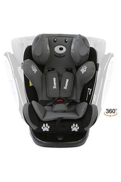 YOYKO Dog 360 ° Dönebilir Yatabilir 0-36 Kg Oto Koltuğu Isofıx/sıp/latch - Gri