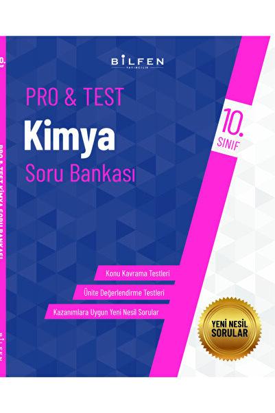 Bilfen Yayıncılık 10. Sınıf Pro Test Kimya Soru Bankası
