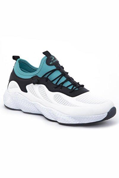TOMSKİNG Erkek Turkuaz Sneaker Lastik Bağcıklı Spor Ayakkabı 1834