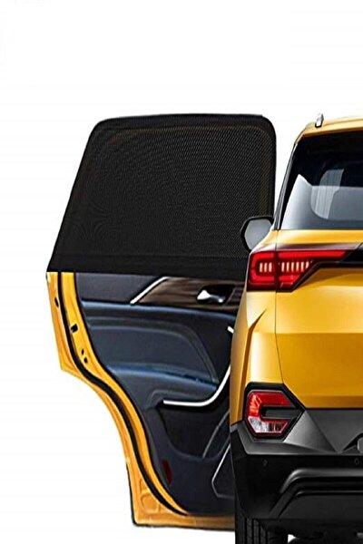 AYACO Araba Yan Cam Güneşlik 2 Adet Oto Arka Koltuk Perde Otomobil Araç Perdesi Güneşliği