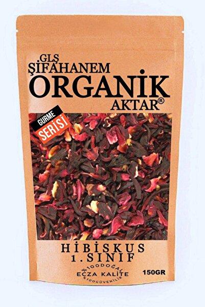 GLŞ ŞİFAHANEM ORGANİK AKTAR Hibiskus Çayı Bamya Çiçeği Mekke Gülü 150 gr