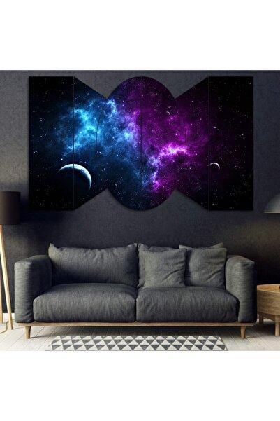 Evonya Uzay , Galaksi - 6 Parçalı Dekoratif Tablo