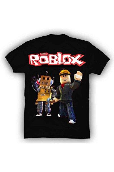 TakeTshirt Roblox Tişört Siyah Unisex