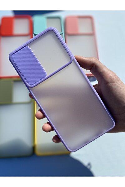 MM KILIF AKSESUAR Huawei P Smart 2021 Kamera Sürgülü Mika Kılıf