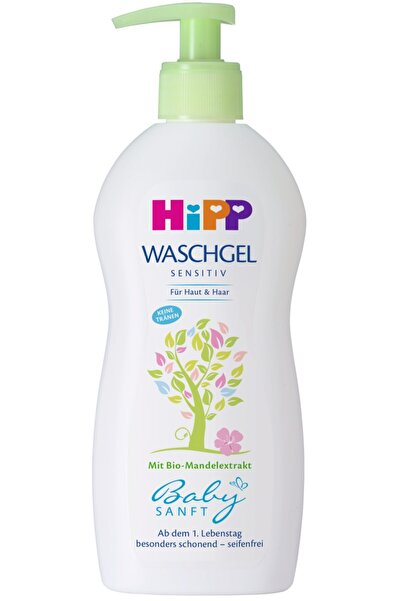 Hipp Babysanft Bebek Saç Ve Vücut Banyo Jeli 400ml