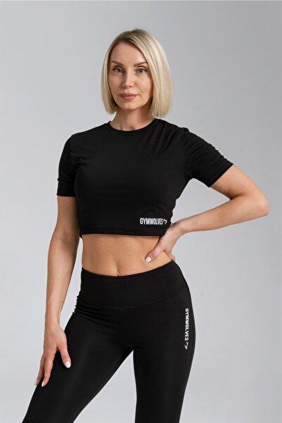 Gymwolves Kadın Body Crop Tops