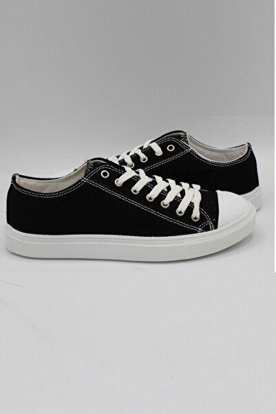 Rock & Roll Siyaha Beyaz Unisex Spor Ayakkabı