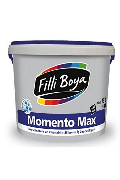 Filli Boya Momento Max 15 lt Tam Silinebilir Slikonlu Iç Cephe Boyası
