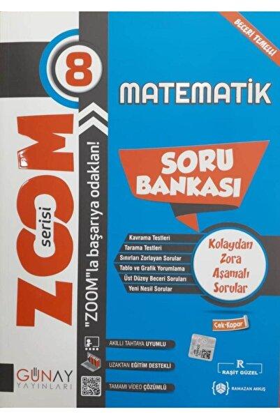 Günay Yayıncılık Günay Yayınları Zoom Serisi 8. Sınıf Matematik Soru Bankası