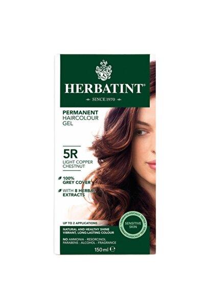 Herbatint Kalıcı Bitkisel Saç Bakım Boyası Light Copper Chestnut 5R Bakır Açık Kahverengi 150 ml 8016744500203