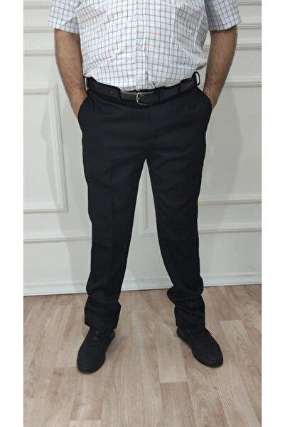 nacar çarşı Erkek Büyük Beden Klasik Rahat Kesim Kumaş Pantolon